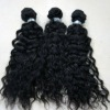 Afro deep curl mongalian remi hair natural black