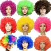 Afro wig hair football fans masquerade party wigs hair hair color hair Africa