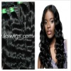 Any ideal color you can dye hair extension natural wave 100g/pcs