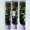 Attract package natural curly remi brazilian hair