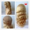 Attractive human hair wig thin skin for wholesale
