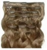 Best quality premium clip in curly hair extension