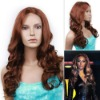 Best-selling 20inch curly human lace front wigs
