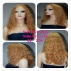 Best selling beautiful 20'' lace wigs natural curly