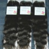 Best selling human hair weave natural wave 100g/pcs