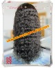 Best selling no shedding no tangle Natural color Brazilian virgin hair wave full lace wigs