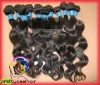 Black Virgin Body Wave Indian Hair Weaving