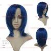 Blue short wig