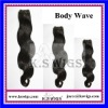 Body wave brazilian hair wavy 100g per piece
