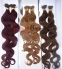 Body wave i tip hair extension