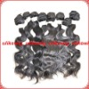 Body wave natural color Malaysian virgin human hair extension