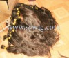 Braid hair / Virgin hair/Raw hair /single drawn hair