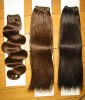 Brazilian human hair extensions, all colors are available