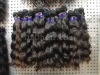 Brazilian virgin hair , natural color wavy hair