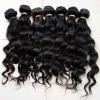 Brazilian virgin hair ,natural curly hair weave