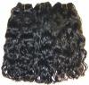 Brazilian wavy human hair weft
