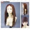 Brown Colored Virgin Remy Hair Lace Wig