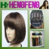 Brown stright wave wigs hair short synthetic wigs to ladies