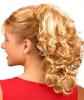 Butter fly add-on synthetic hair ponytail extension