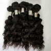 Cambodian hair weave virgin human hair extension