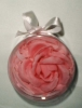 Camellia Paper soap flower in round case