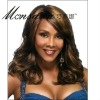 Charming and long kinky curl human hair full lace wig for black ladies