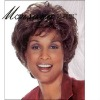 Charming and short brown curly human hair full lace wig for black ladies