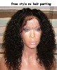 Cheap!!super soft best price virgin brazilian hair full lace wig for black women