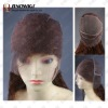 Chinese Virgin Remy Hair Half Hand Tied Wig