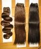 Chinese/indian/Malaysian virgin hair weft