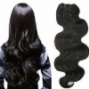 Chinese remy   body  curl human hair weaving