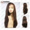 Chocolate Brown Long Lace Wig