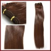 Chocolate Brown Remy Human Hair Weft