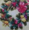 Christmas garland printed Napkins