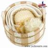 Compact wooden sauna bucket