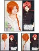Cosplay Gintama Kamui cosplay wig