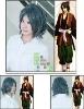 Cosplay Hakuouki Okita Souji cosplay wig