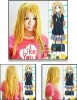 Cosplay K-ON Kotobuki Tsumugi cosplay wig