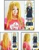 Cosplay K-ON Kotobuki Tsumugi cosplay wig