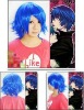 Cosplay Vocaloid Kaito cosplay wig