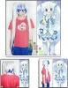 Cosplay Vocaloid snow Hatsune Miku cosplay wig