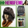 Curly black synthetic wigs hair short women wigs