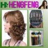 Curly honey brown wigs hair short synthetic women wigs