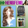 Curly mix color wig-synthetic daily hair wigs-good hair