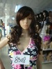 Curly synthetic cosplay wigs/Yong girl adult fashion wigs(BSFW-2240)