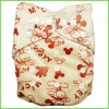 Cute Printed Cloth Diapers, Washable Cloth Nappy, All in One Size