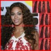 Deep curl-Super quality 100% Brazilian virgin hair extension-hand tide weft