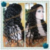 Deep wave heavy density full lace wigs made of 100% Chinese virgin hair in stock