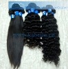 Deep wave virgin human hair wavy