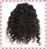Deep wave virgin natural brown Indian hair